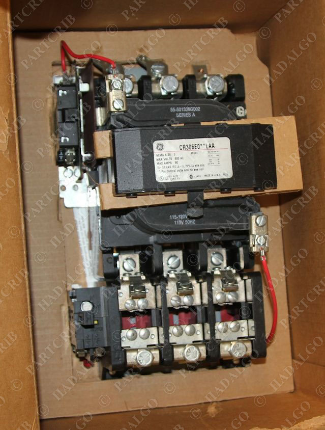 Ge Magnetic Starter Cr306e004lre Starter Contactor Size 3