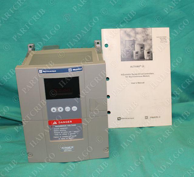 square d atv18u29n4u ac speed drive 2hp 1 5kw telemecanique vfd motor new partcrib