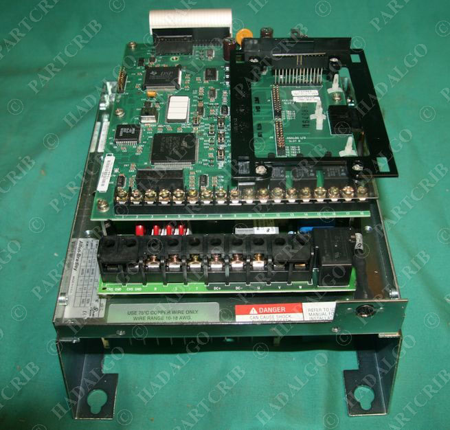 Allen bradley 1336f brf30 an en vfd adjustable frequency for Vfd for 3hp motor