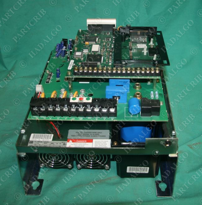 Allen bradley 1336f brf75 an en vfd adjustable frequency for Vfd for 3hp motor