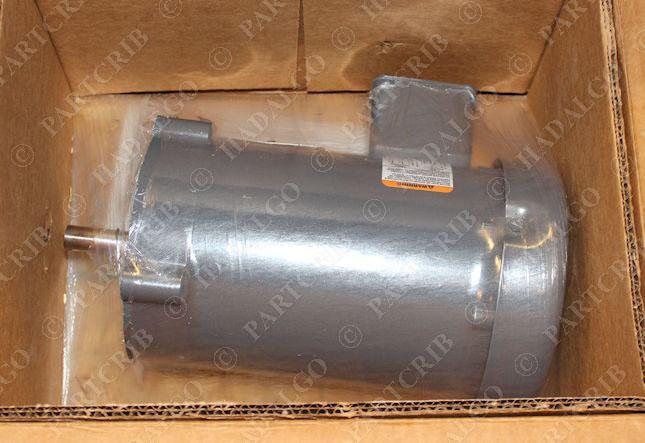 Baldor vm3550 industrial motor 1 5hp 3ph 3450rpm 230 460v for Baldor 15 hp motor
