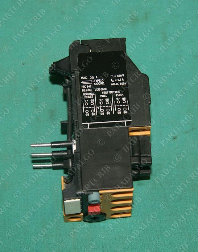 Allen bradley 193 bsb60 overload relay motor protector 4 for Allen bradley motor overload