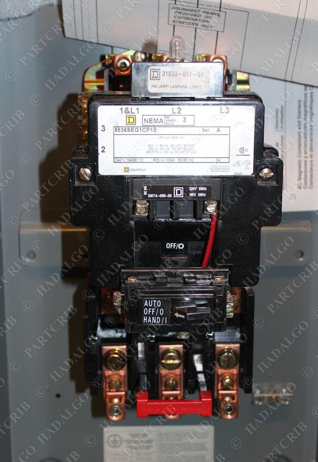 Square d 8536seg1v02cp1s motor starter 8536seg1cp1s size for Square d motor starter sizing chart