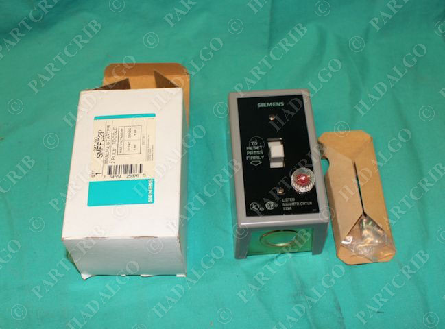 Siemens Smffg2p Toggle Switch Manual Motor Starter 2pole