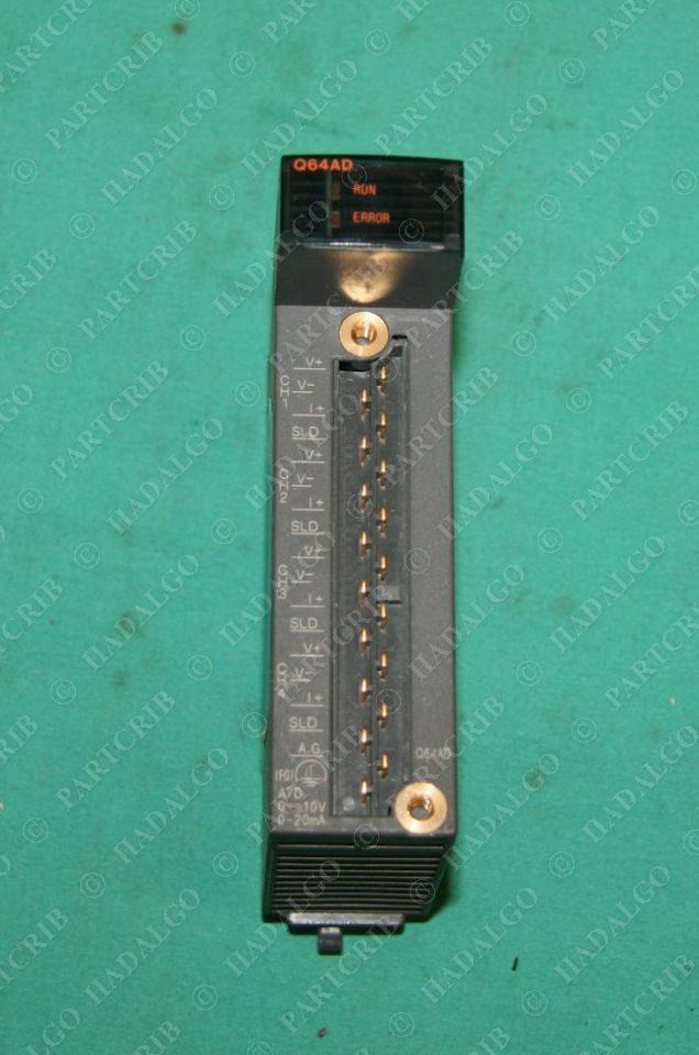 Mitsubishi, Q64AD, Melsec-Q A/D Converter Unit NEW | eBay