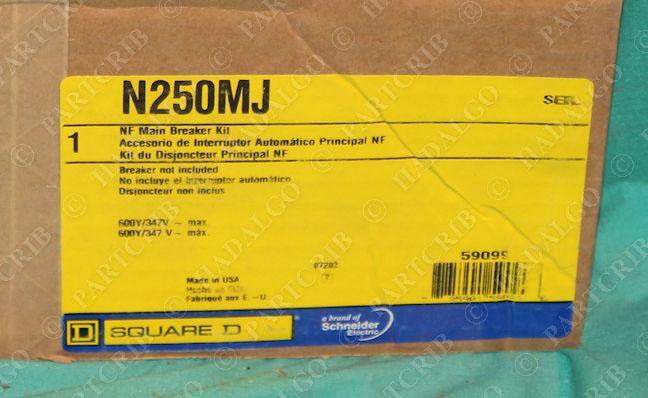 Square D N250MJ NF Main Bteaker Kit NEW | eBay