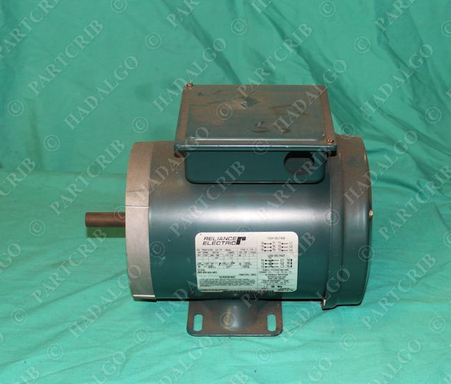 Reliance electric p56h1319h electric motor type p 3 4hp for Types of electric motors