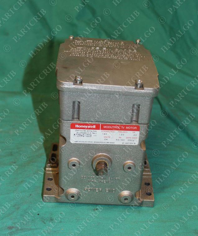 honeywell m7294g1009 modutrol iv motor actuator 24v new