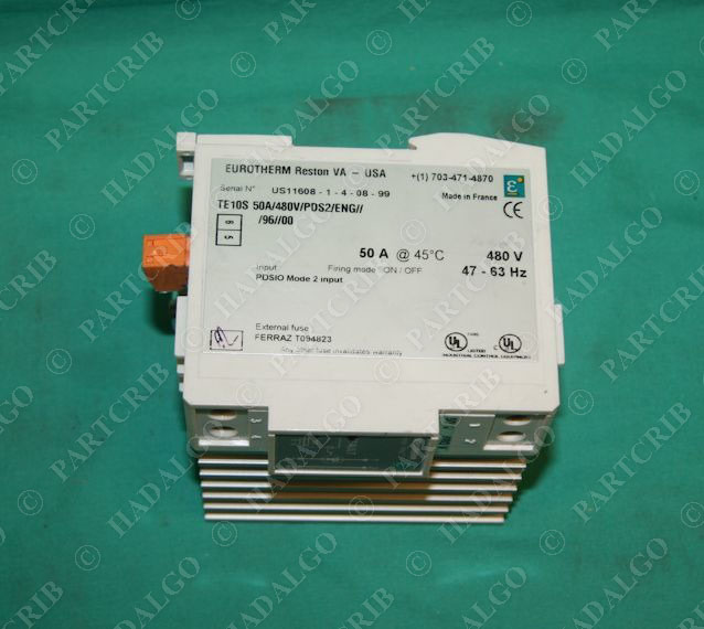 eurotherm te10s solid state relay ssr 50a 480v pds2 eng