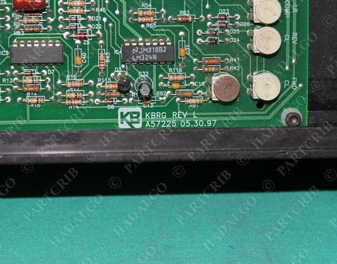 baldor electric bc203 cn3000a48 dc motor speed control