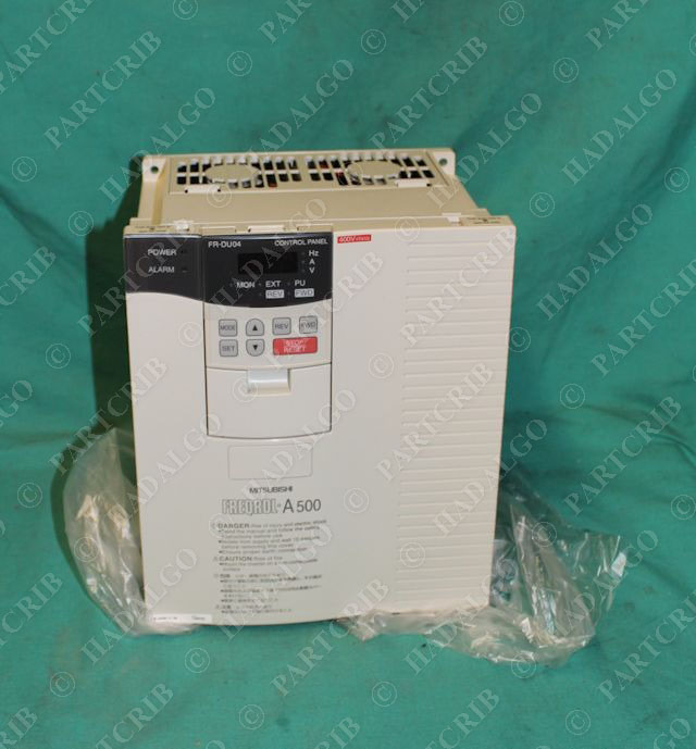 Mitsubishi fr a540 5 5k freqrol a500 inverter vfd drive for Vfd for 7 5 hp motor