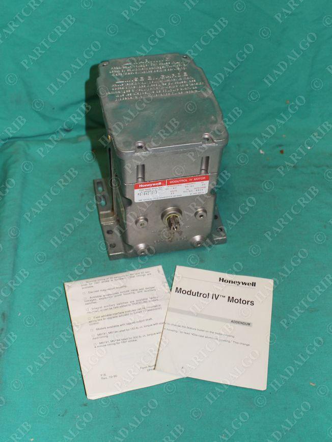 Honeywell M9184 D 1013 Modutrol Iv Motor 24v New