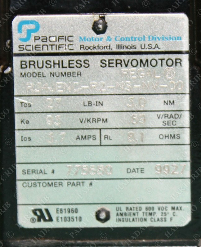 pacific scientific servo drive manual