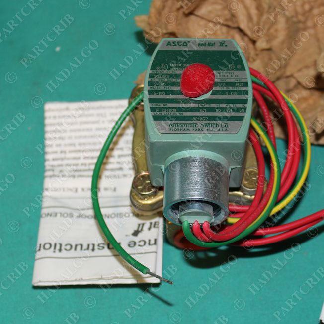 asco hat 8210g2 solenoid valve new partcrib