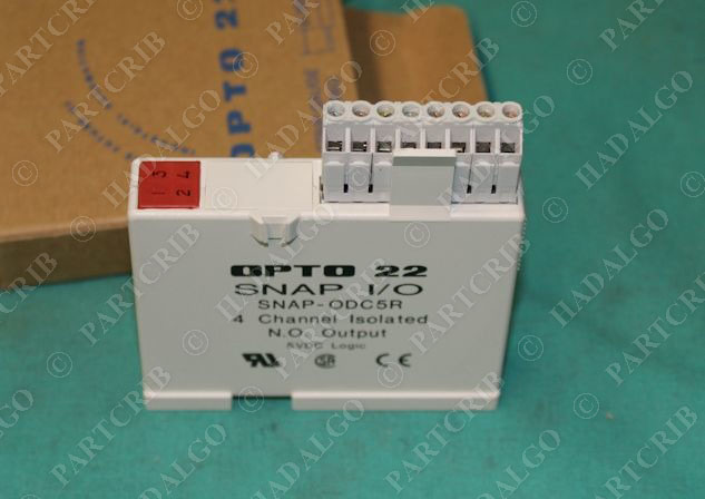 opto 22 snap odc5r snapodc5r snap i o module relay ssr. Black Bedroom Furniture Sets. Home Design Ideas