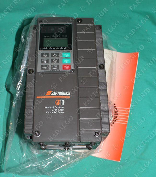 Saftronics gp10e4st32003b1 gp102003 4 3hp ac drive 230v for Vfd for 3hp motor