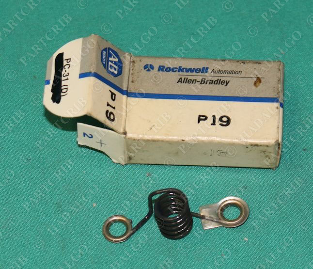 Allen bradley p19 motor overload heater element new for Allen bradley motor overload