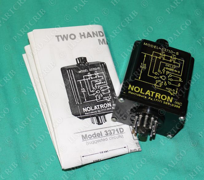 Sd Nolatron D Relay Module New on Dayton Time Delay Solid State Relay