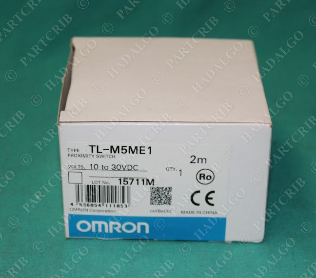 Omron Tl M5me1 Proximity Switch Sensor 10 30vdc New