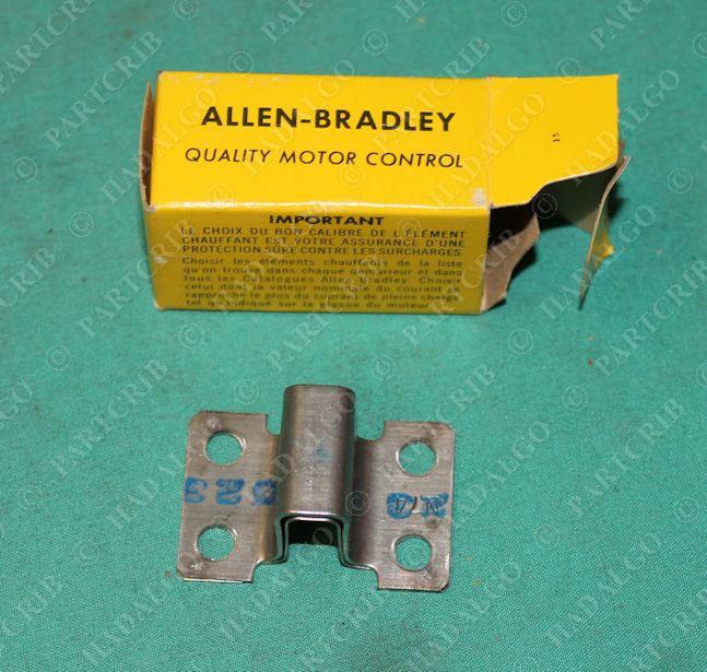 Allen Bradley N74 Overload Heating Element Starter Motor