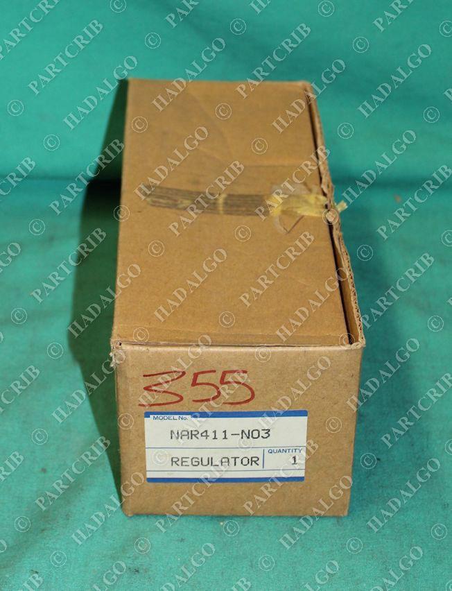 SMC, NAR411-N03, Regulator 7-120psi NEW