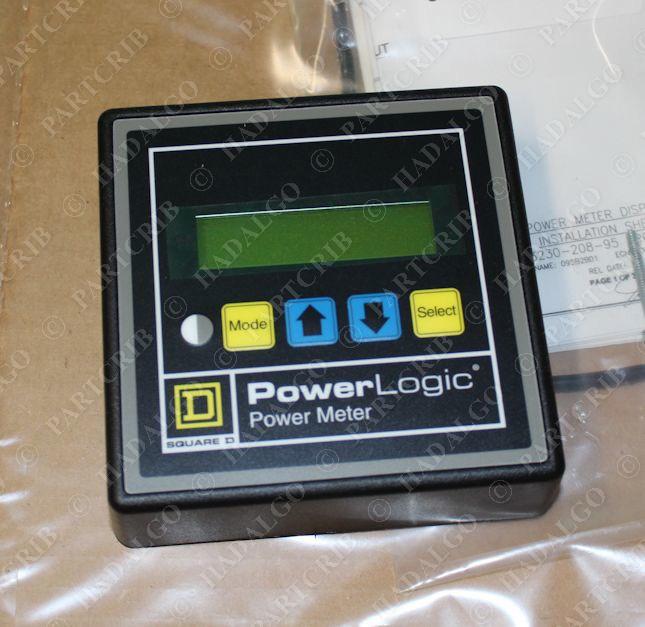 Powerlogic Energy Meter : Square d pmd powerlogic power meter