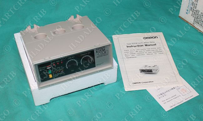 Omron K2cm 1ls Motor Protector Overload Relay 100 110