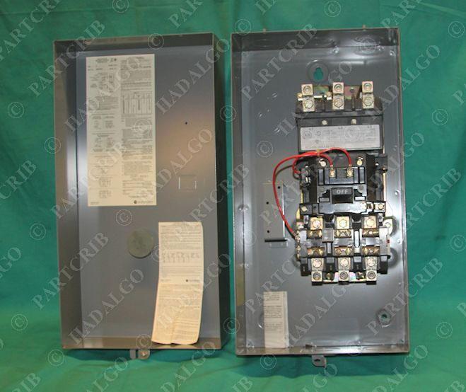allen bradley 509 dad full voltage starter nema enclosure. Black Bedroom Furniture Sets. Home Design Ideas