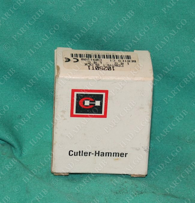 sd19031 cutler hammer 10250t1 contact block 1no 1nc new cutler hammer fuse box 1000 hammer ideas cutler hammer fuse box parts at crackthecode.co