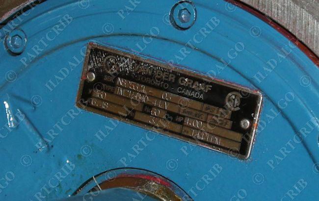 Van Der Graaf Motorized Conveyor Roller Drum Motor 50 Ebay