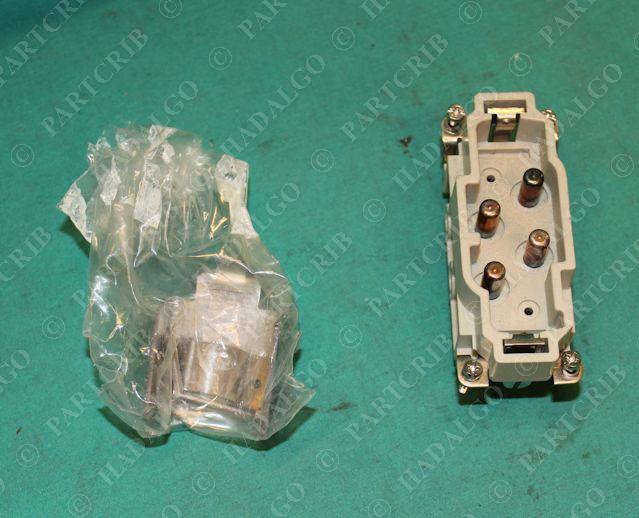 Harting Connector HAN 10ES-STI 10ESM Plug NEW 09330102616