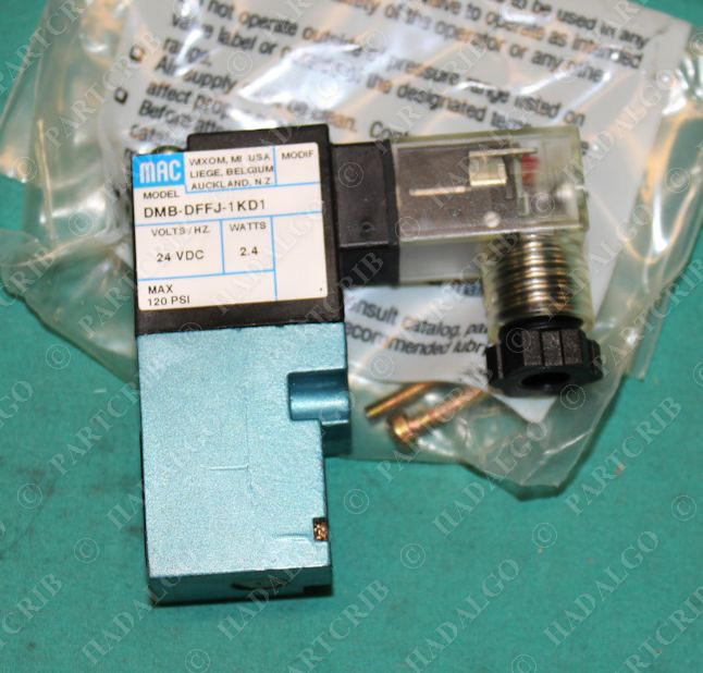 mac dmb dffj 1kd1 solenoid valve 24vdc partcrib