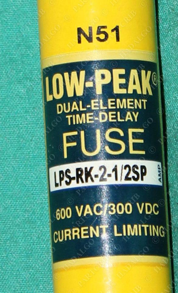 Bussmann  Lps 2sp  Dual Element Time Delay Fuse 2