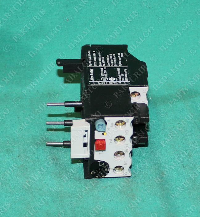 Allen bradley 193 tab24 thermal overload relay motor for Motor thermal overload protection