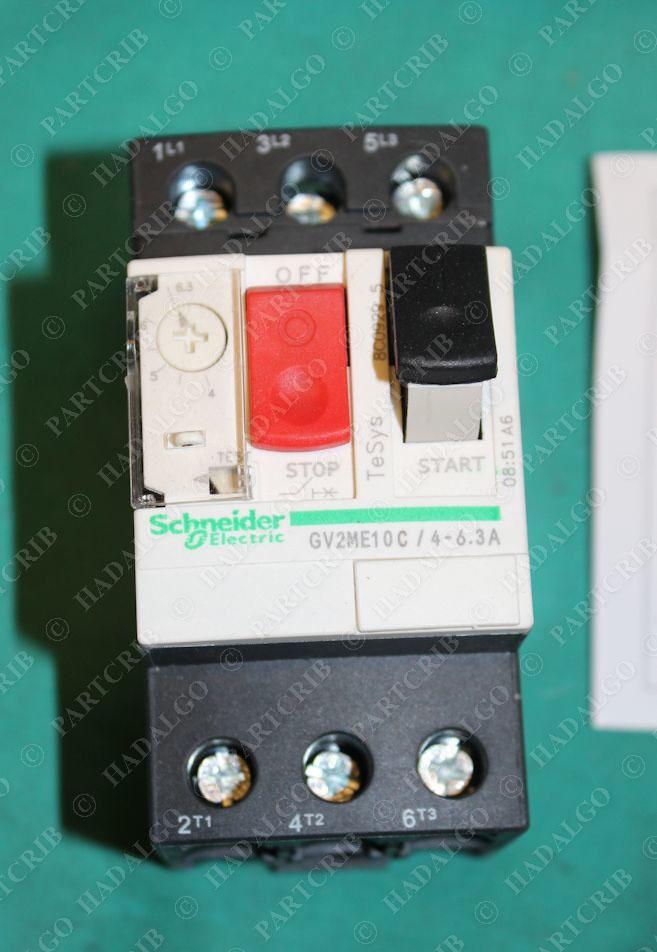 Schneider gv2 me10c gv2me10c motor circuit breaker for Manual motor starter with overload protection