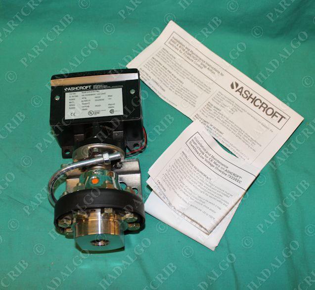 ashcroft b424b xckc4fspktm06 pressure snap switch partcrib