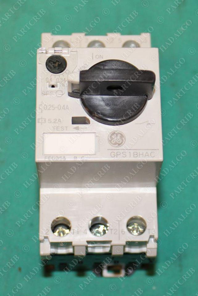 General Electric Gps1bhac Manual Motor Starter