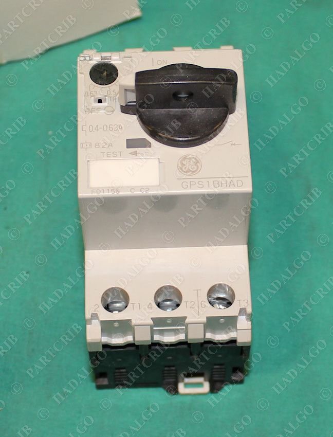 General electric gps1bhad manual motor starter overload 0 for General electric motor starters