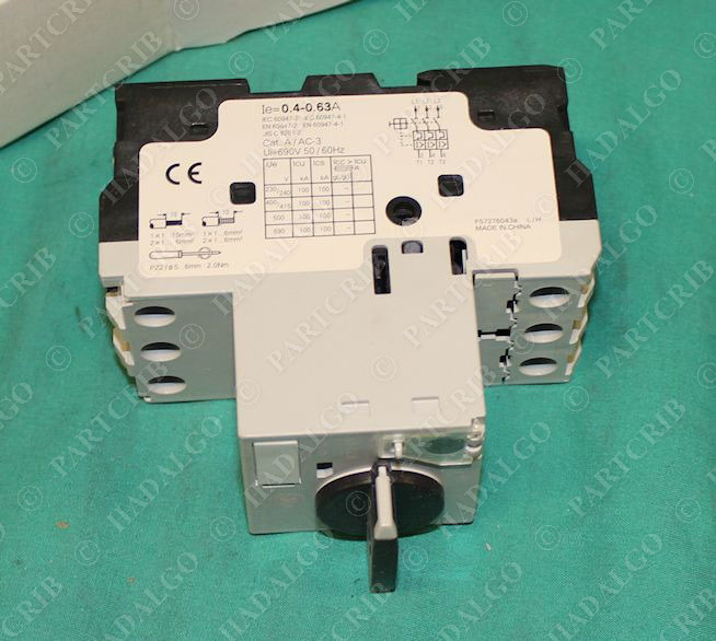 General Electric Gps1bhad Manual Motor Starter Overload 0