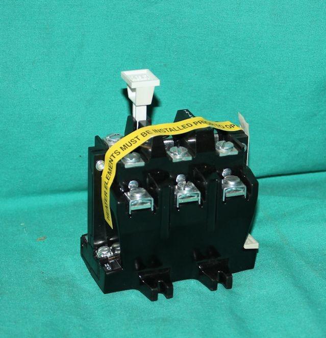Allen bradley 42185 800 01 contactor overload relay 3 for Allen bradley motor overload