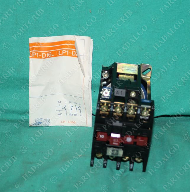 telemecanique lp1d253b contactor partcrib