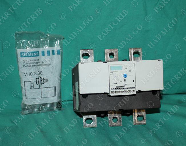 Siemens 3rb2066 1mf2 overload relay motor protector 160 630a 600vac Motor overload relay
