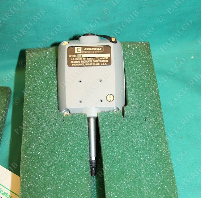 Electronic Federal Gage Products : Mahr federal maxum dei d digital electronic dial