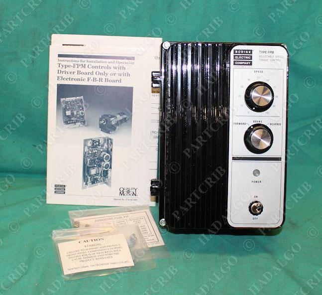 Bodine Electric Model 818 Adjustable Speed Torque Control