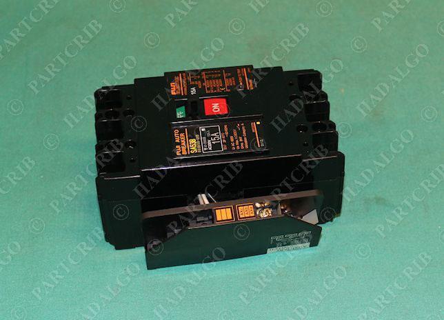 Fuji Electric Sa53b Circuit Breaker 15a 220vac New