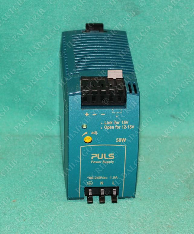puls ml50 102 dc power supply 100 240vac 12 15vdc new ebay. Black Bedroom Furniture Sets. Home Design Ideas