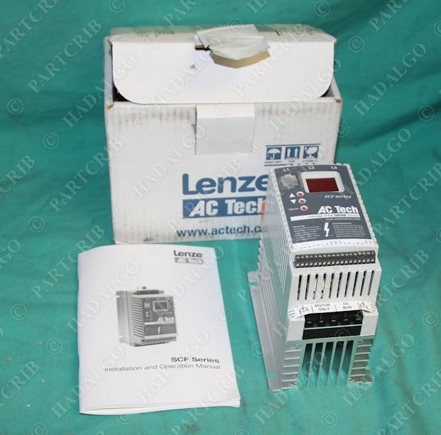 Ac Tech Adjustable Speed Motor Control Vfd Sf415 Lenze Scf