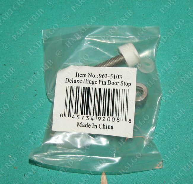 963 5103 Deluxe Hinge Pin Door Stop Satin Nickel New