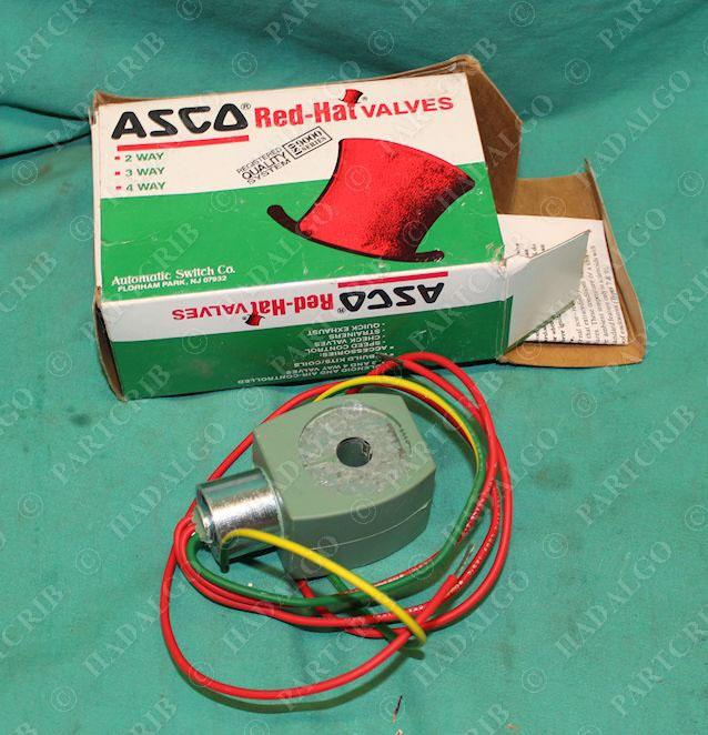 asco  238210 032 d  mp c 080  032d red hat solenoid valve