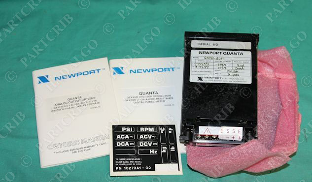 Newport Digital Meter : Newport quanta digital panel meter q rdf rdfi new ebay